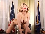 Alexis Texas as Marilyn Monroe gets fucked hard by the president.